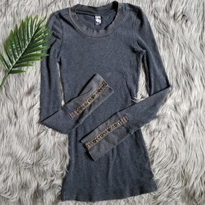 Free People Thermal Studded Cuff